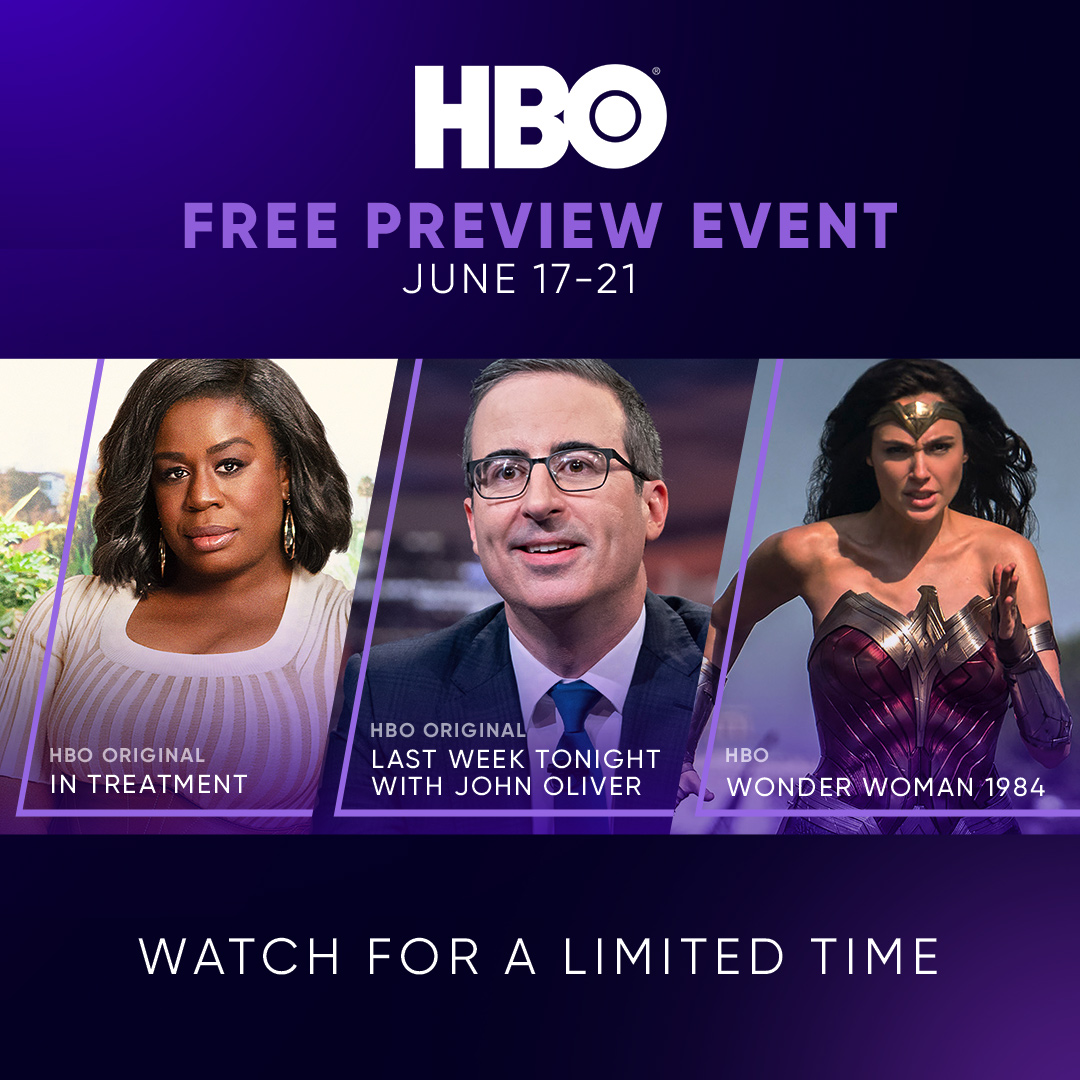 FREE HBO on EZVideo This Weekend
