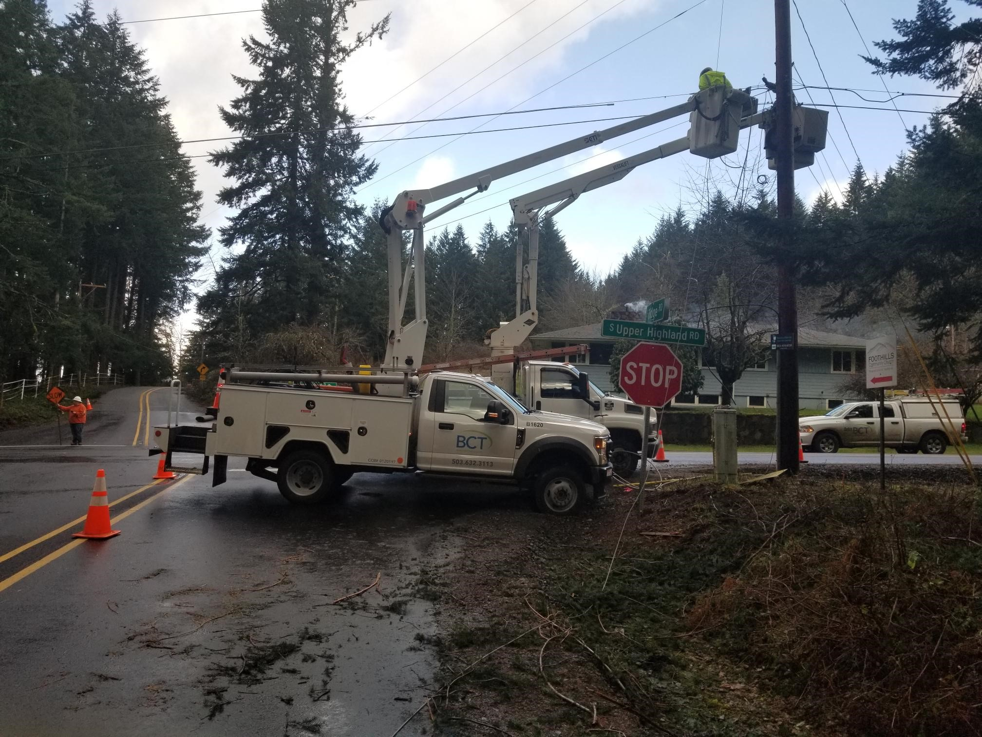 BCT technicians continue repairs from historic ice storm